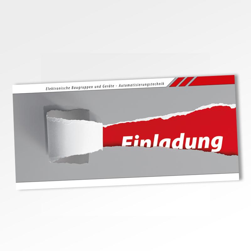 Guehs Werbemedien -Einladungskarte, in, Ingolstadt, Regensburg, Straubing