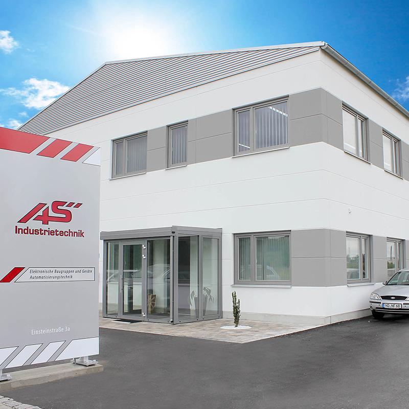 Guehs Werbemedien - AS Industrietechnik, Print, Messe, Außendesign, in, Ingolstadt, Regensburg, Straubing
