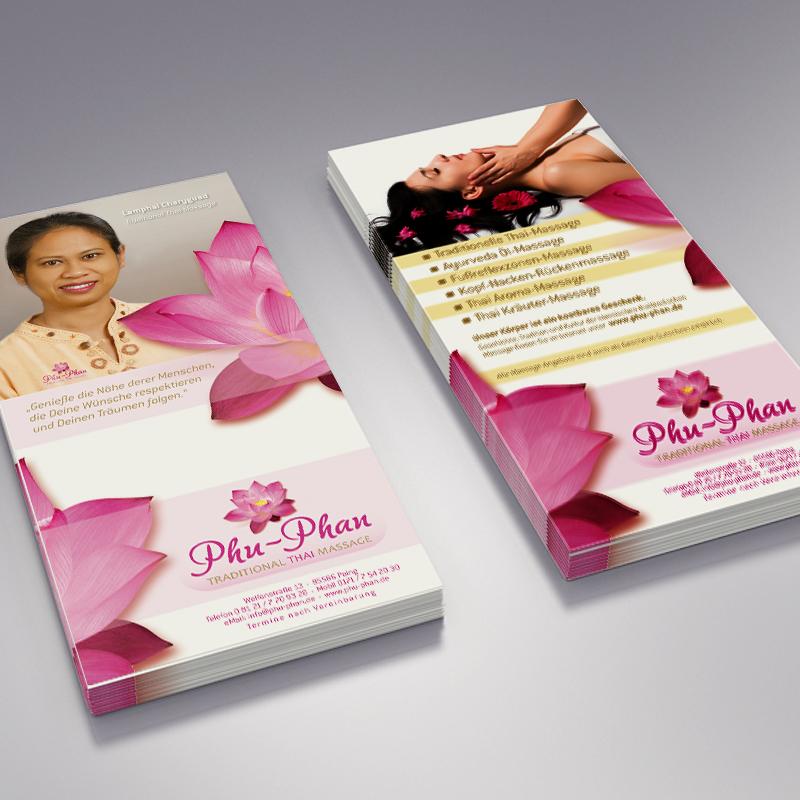 Guehs Werbemedien - Print, Außendesign, Thai-Massage, in, Ingolstadt, Regensburg, Straubing