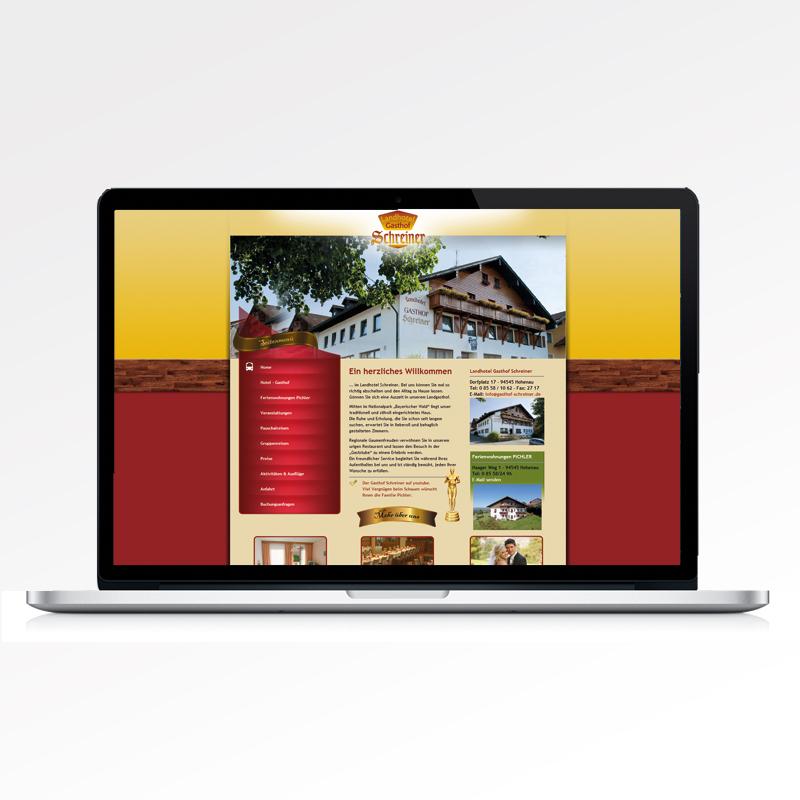 Guehs Werbemedien - Print, Webdesign, Landhotel, Gasthof, Regensburg, Straubing